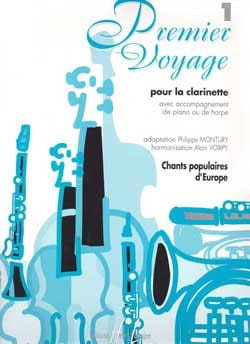 Premier Voyage Volume 1 - Clarinette laflutedepan