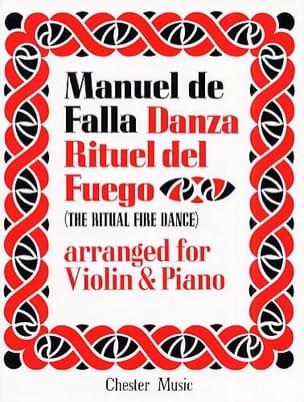 Danza Rituel del Fuego - Violon DE FALLA Partition laflutedepan