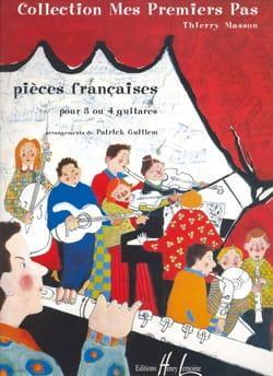 Pièces françaises Patrick Guillem Partition Guitare - laflutedepan