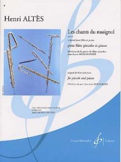 Les chants du rossignol op. 11 - Piccolo piano laflutedepan