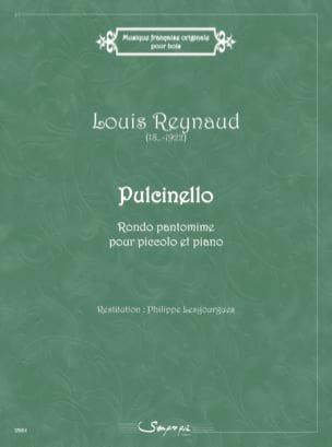 Pulcinello Louis Reynaud Partition Flûte traversière - laflutedepan