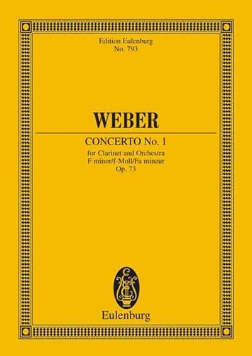 Klarinetten-Konzert Nr. 1 f-moll - laflutedepan.com