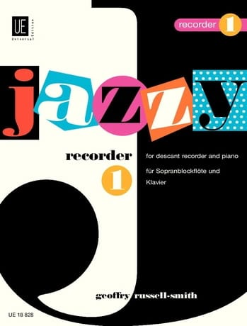 Jazzy Recorder 1 - Geoffry Russell-Smith - laflutedepan.com