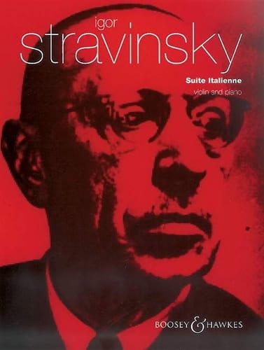 Suite Italienne - STRAVINSKY - Partition - Violon - laflutedepan.com