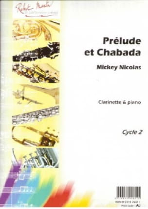 Prélude et Chabada - Mickey Nicolas - Partition - laflutedepan.com