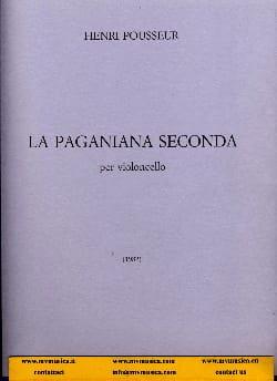 La Paganiana seconda Henri Pousseur Partition laflutedepan