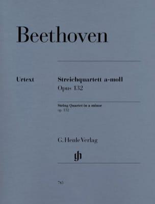 Quatuor à cordes en la mineur op. 132 BEETHOVEN Partition laflutedepan