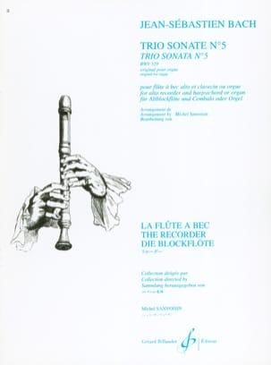Trio Sonate N° 5 BWV 529 - flûte à bec alto BACH laflutedepan