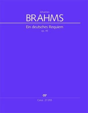 Ein Deutsches Requiem Op. 45 - BRAHMS Partition laflutedepan