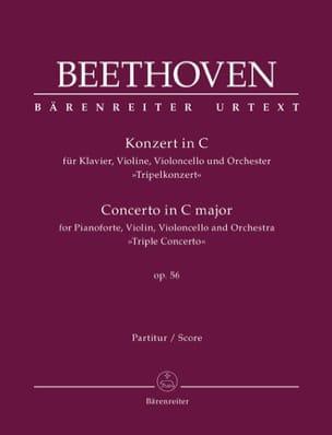 Concerto en Do Majeur pour Piano, Violon, Violoncelle et Orch., Op. 56 laflutedepan