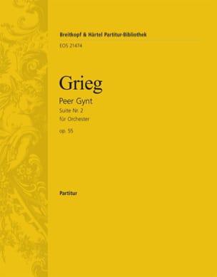 Peer Gynt, Suite n° 2 - Conducteur GRIEG Partition laflutedepan