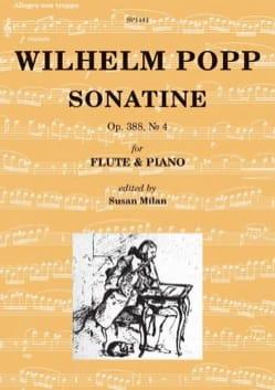 Sonatine, op. 388 n° 4 - Wilhelm Popp - Partition - laflutedepan.com