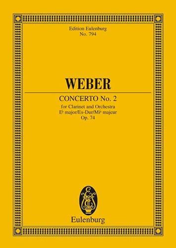 Klarinetten-Konzert Nr. 2 Es-Dur - laflutedepan.com