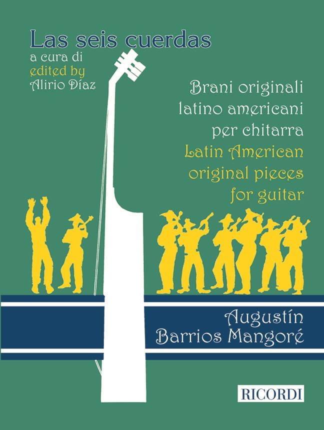 Latin American Original pieces for guitar - laflutedepan.com