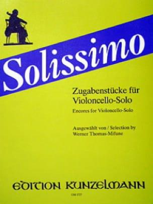 Solissimo - Werner Thomas-Mifune - Partition - laflutedepan.com