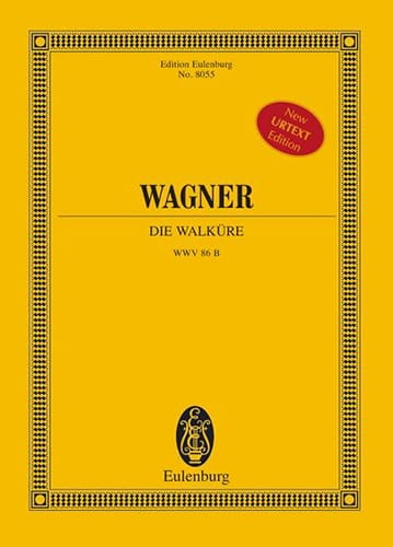 Die Walküre Wwv 86b - WAGNER - Partition - laflutedepan.com