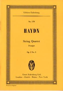 Streich-Quartett D-Dur op. 2 n° 5 - HAYDN - laflutedepan.com