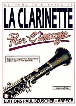 La clarinette par l'image Jean Clairval Partition laflutedepan
