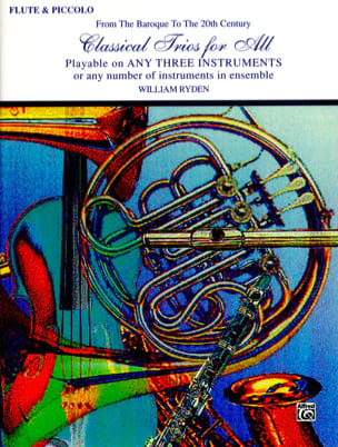Classical Trios For All - From The Baroque To The 20th Century laflutedepan