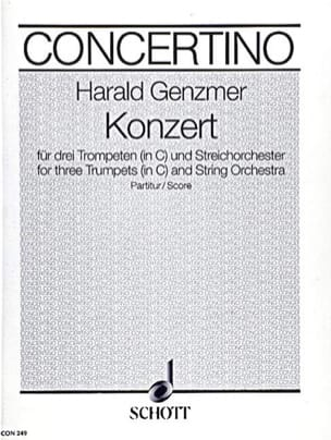Konzert in C - 3 Trompeten und Orchester - Partitur laflutedepan