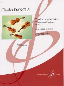 Solo de concerto n° 7 op. 224 en ré majeur DANCLA laflutedepan