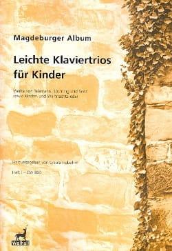 Magdeburger Album - Leichte Klaviertrios Für Kinder Volume 1 laflutedepan