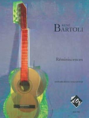 Réminiscences - René Bartoli - Partition - Guitare - laflutedepan.com