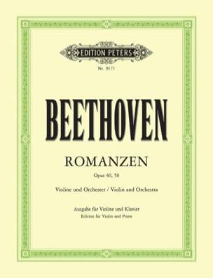 Romanzen op. 40 G-Dur, op. 50 F-Dur - Violine BEETHOVEN laflutedepan