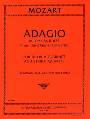 Adagio D major KV 622 - Clarinet String quartet MOZART laflutedepan