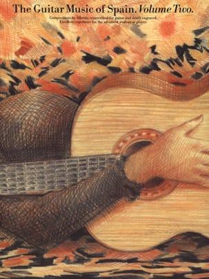 The Guitar Music of Spain Volume 2 - ALBENIZ - laflutedepan.com