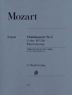 Concerto pour violon n° 3 en Sol majeur KV 216 MOZART laflutedepan