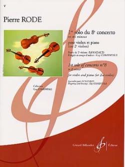 1er Solo du Concerto n° 8 en mi mineur Pierre Rode laflutedepan