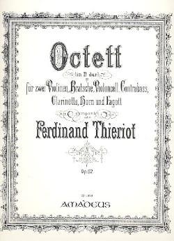 Octuor Op.62 En Si Bémol Majeur Ferdinand Thieriot laflutedepan