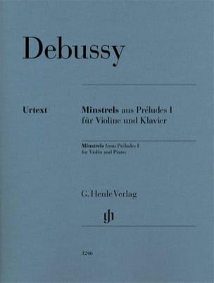 Minstrels de Préludes Cahier 1 - Violon et piano DEBUSSY laflutedepan
