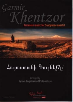 Garmir Khentzor Traditionnel Partition Clarinette - laflutedepan