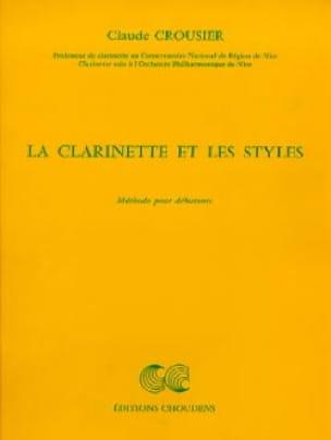 La clarinette et les styles - Claude Crousier - laflutedepan.com