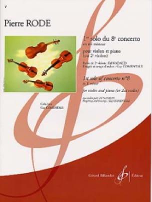 1er Solo du Concerto n° 8 en mi mineur - laflutedepan.com