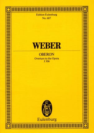 Oberon, Ouvertüre - Partitur Carl Maria von Weber laflutedepan