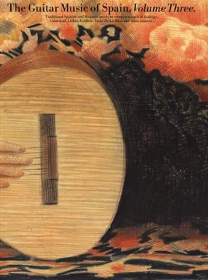 The Guitar Music Of Spain Volume 3 Partition Guitare - laflutedepan