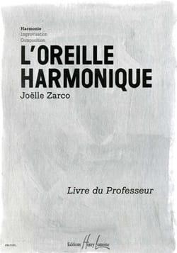 L'oreille Harmonique - Livre Du Professeur Joelle Zarco laflutedepan