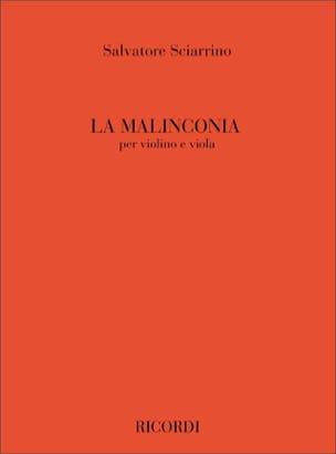 La Malinconia Salvatore Sciarrino Partition 0 - laflutedepan