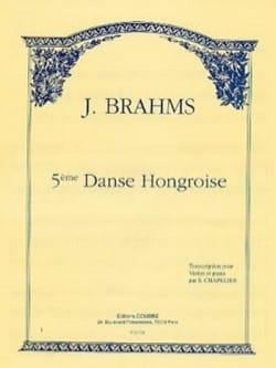 Danse Hongroise n° 5 Chapelier BRAHMS Partition Violon - laflutedepan