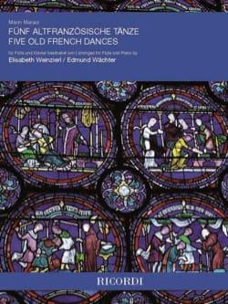 5 Danses Françaises - Flûte et Piano Marin Marais laflutedepan