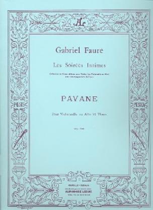 Pavane, op. 50 - FAURÉ - Partition - Violoncelle - laflutedepan.com