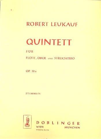 Quintett op. 32a - Flöte Oboe Streichtrio - Stimmen - laflutedepan.com