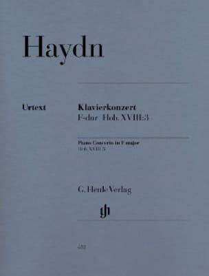 Concerto pour piano clavecin et orchestre en Fa majeur Hob. XVIII:3 - laflutedepan.com
