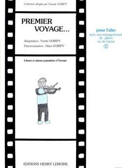 Premier voyage, Volume 2 - Alto laflutedepan