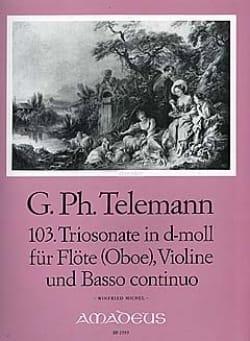 Triosonate Nr. 103 d-moll -Flöte Oboe Violine u. Bc - laflutedepan.com