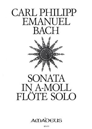 Sonate a-moll Wq 132 - Flöte solo laflutedepan