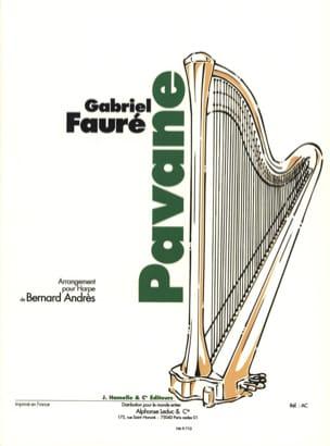 Pavane - Harpe FAURÉ Partition Harpe - laflutedepan